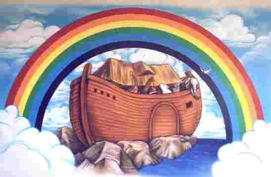 Noahs Ark Rainbow 8ft R